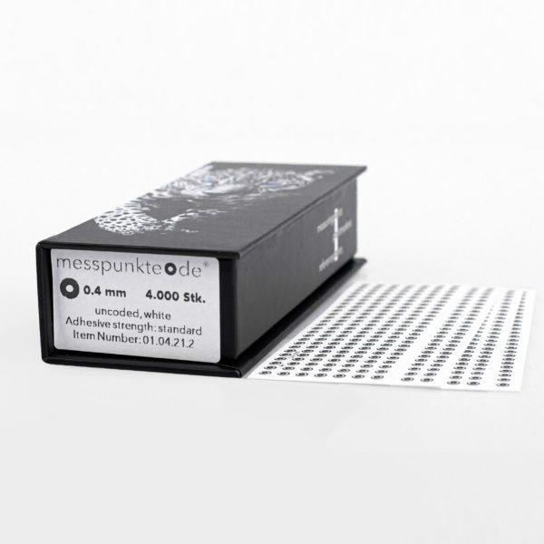 0.4 mm standard weiß uncodiert 3