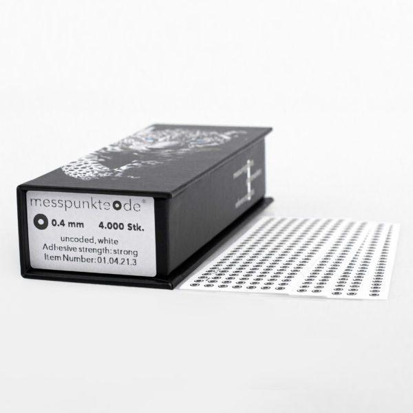 0.4 mm strong weiß uncodiert 3