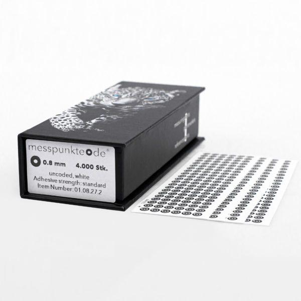 0.8 mm standard weiß uncodiert 3
