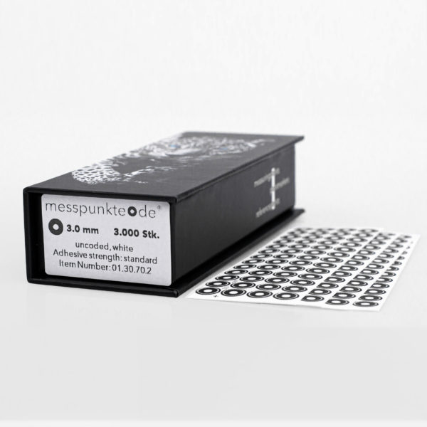 3.0 mm weiß standard uncodiert 3