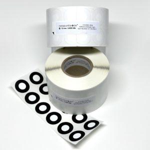 Messpunkte Rolle 12 mm 3.000 stk
