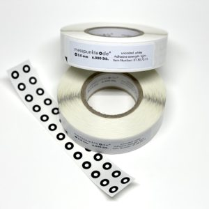 Messpunkte Rolle 3 mm 6.000 stk